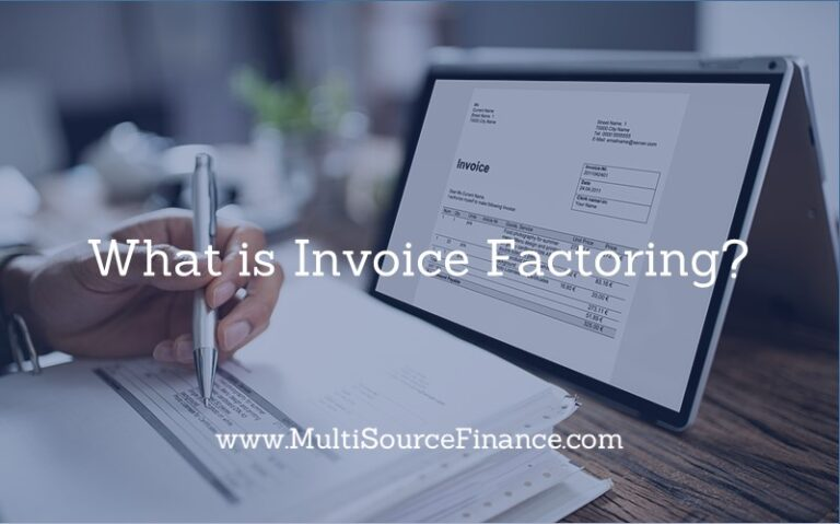 what is invoice factoring